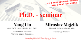 Pozvánka na Ph.D. seminář