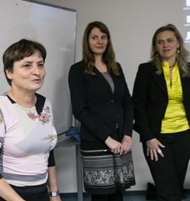 Přednáška Mgr. Petry Landergott a Mgr. Lucie Řehoříkové