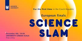 Evropské finále Science Slam v Brně