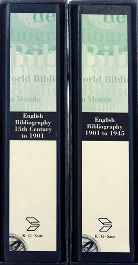 English Bibliography Package