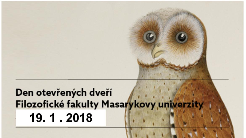 Den otevřených dveří Filozofické fakulty MU