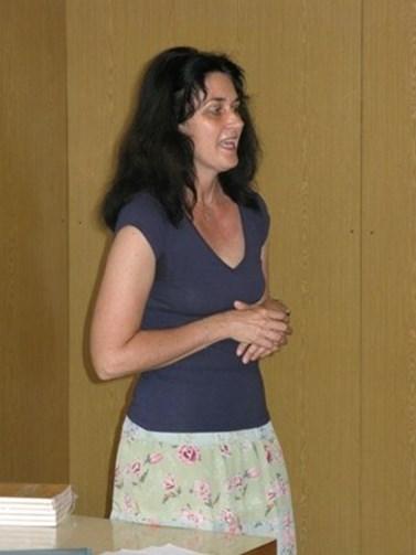 Eva Talpová hovoří o tom, jak při vedení kurzů tvůrčího psaní čerpá ze své autorské zkušenosti