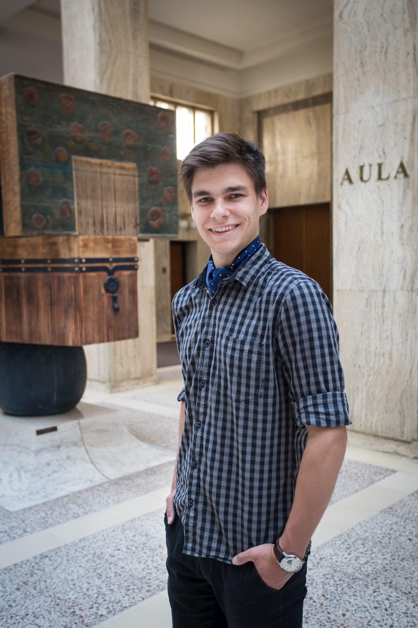 Tomáš Přeček, student práv z Havířova