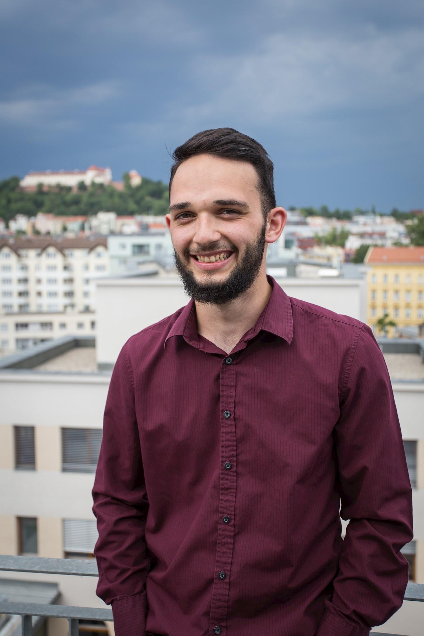Marek Mynařík, student učitelství anglického jazyka z Vranova nad Dyjí