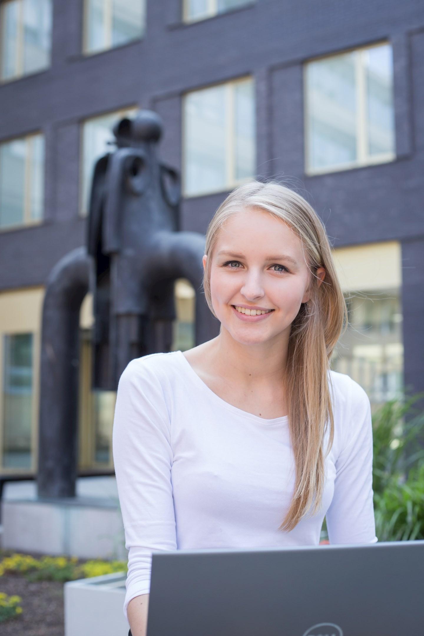 Markéta Kučerová, studentka aplikované informatiky z Uherského Hradiště