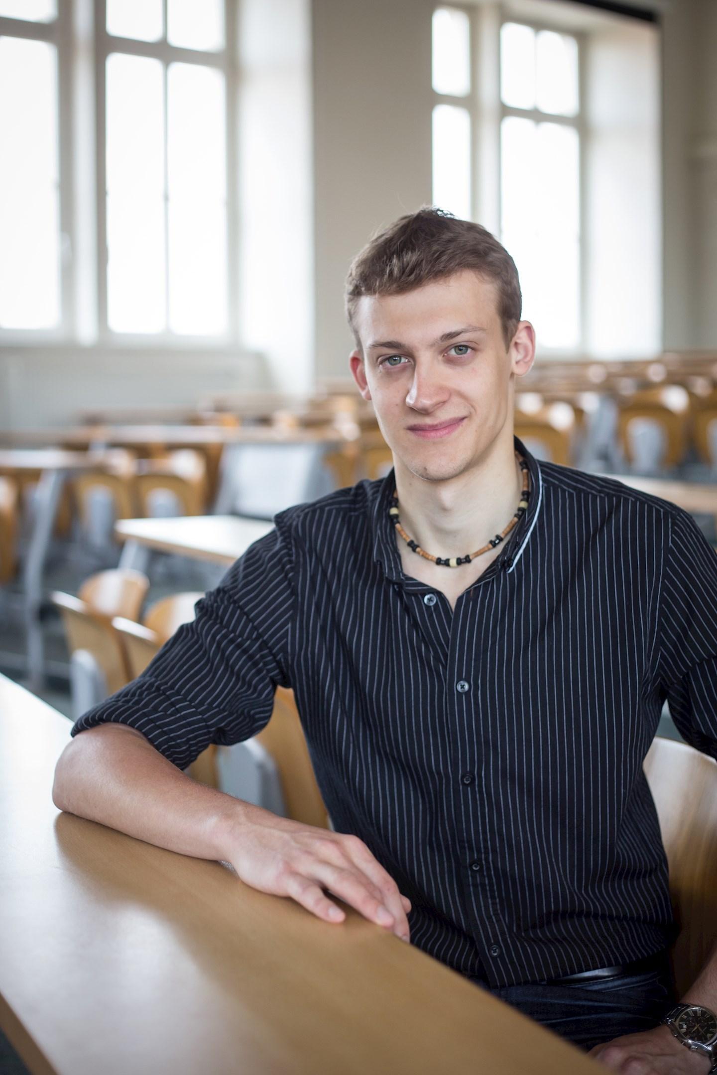 Lukáš Klocek, student sociologie z Opavy