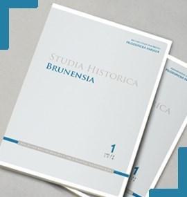 STUDIA HISTORICA BRUNENSIA a ČASOPIS MATICE MORAVSKÉ