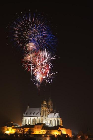 Fireworks festival Ignis Brunensis