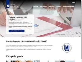 RMU - Grantová agentura MU