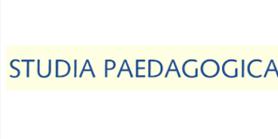 Nové číslo časopisu Studia paedagogica