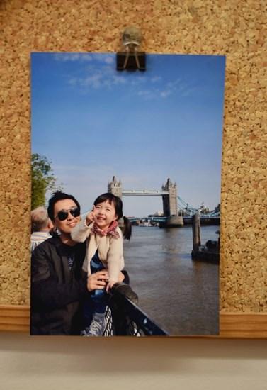 Kim rád cestuje. S rodinou navštívil třeba Londýn. Foto: Archiv Tae-Sik Kima