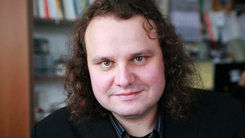 Petr Koura, host debaty po projekci filmu Ztraceni v Mnichově, 27. března 2018
