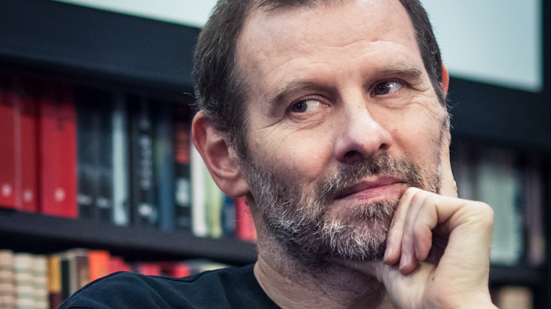 Martin M. Šimečka, host debaty po projekci filmu Mečiar, 3. dubna 2018