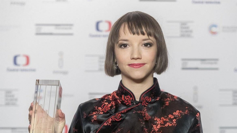 Tereza Nvotová, host debaty po projekci filmu Mečiar, 3. dubna 2018
