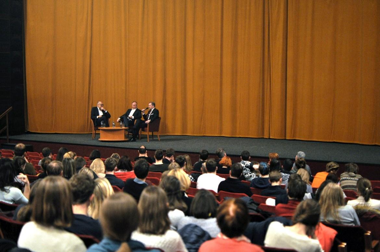 27.2. 2018 / Debata s rektory na téma Masaryk dnes