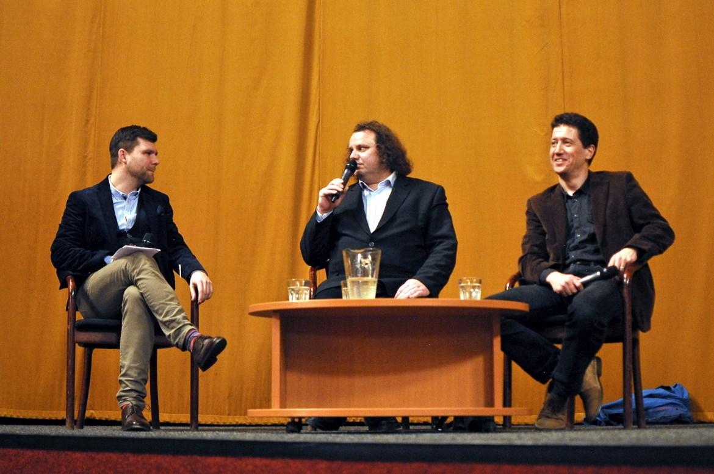 27.3.2018 / Debata po projekci Ztraceni v Mnichově