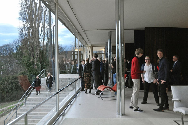 5.4.2018 / Projekce Českého století ve Vile Tugendhat