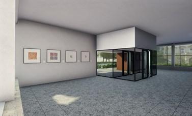 Obrázek z virtuální reality, kterou vytvořil Jiří Mucha
