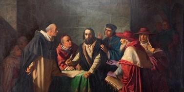 Husitský mučedník Jeroným Pražský