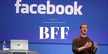Zkratka BFF zabezpečení facebookého účtu nezjistí. Odhalí pouze to, zda věříte hoaxům