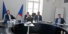Úvodní zasedání obnovené Rady pro transfer technologií a komerční spolupráci MU