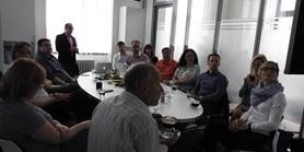 The Estonian delegation at TTO