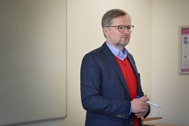 Petr Fiala je prvním profesorem politologie v Česku. Foto: Eva Bartáková
