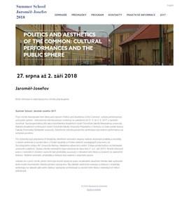 Letní škola: Jaroměř-Josefov 2017