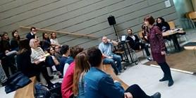 Harmonogram školního kola soutěže studentských psychologických prací - čtvrtek 14. 3., atrium FSS od 14.00