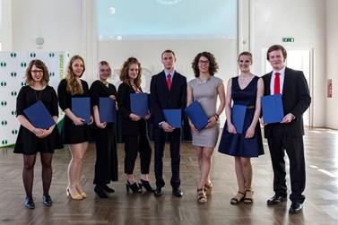 Stipendium I. A. Bláhy oceňuje nejlepší bakalářské práce. Foto: David Kohout