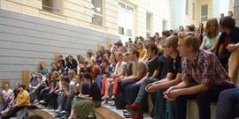Setkání se studenty