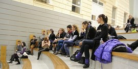 Setkání členů katedry se studenty