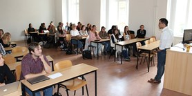 Setkání se studenty prvního ročníku 2015