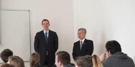 Návštěva japonského velvyslance