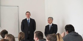 Avisit from the Japanese Ambassador