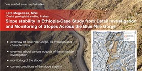 Slope stability in Ethiopia-Case Study from Detail Investigation and Monitoring os Slopes Across the Blue Nile Gorge