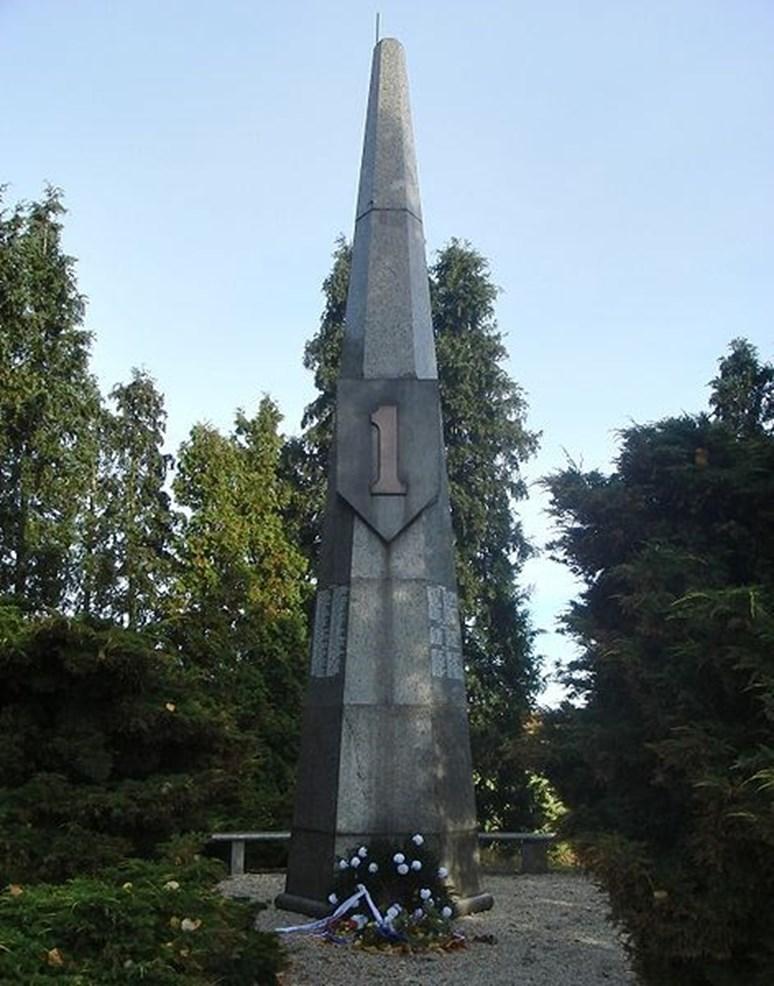Pomník padlým americkým vojákům poblíž Chebu, Ondřej Žváček, Wikimedia Commons, CC BY-SA 3.0