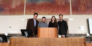Brněnští studenti čekají na výsledky z prestižní soutěže před Evropským soudem pro lidská práva. V rámci přípravy vyjeli do Oxfordu