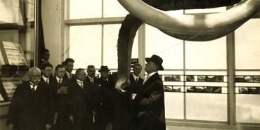 Slavnostní vyhlášení 1. ročníku ceny Zlatý mamut