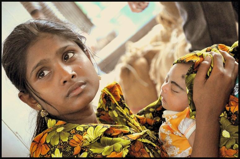 Child Marriage. Sam Nasin, Dhaka, Bangladesh. CC BY-2.0.