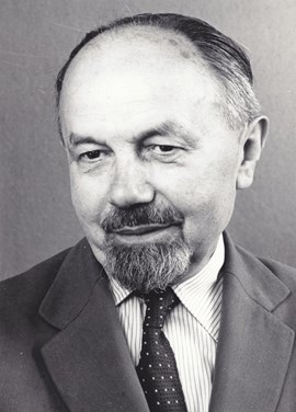 Professor Ludvíkovský. Source: Archive of MU.