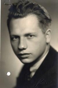 Antonín Bartoněk coby student latiny a klasické řečtiny. Zdroj: Archiv MU.