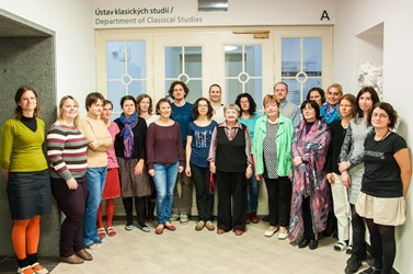 Present academic staff of the department. Notice a significant gender transformation that took place at the department, autumn 2016. Photo: Michal Polovka.