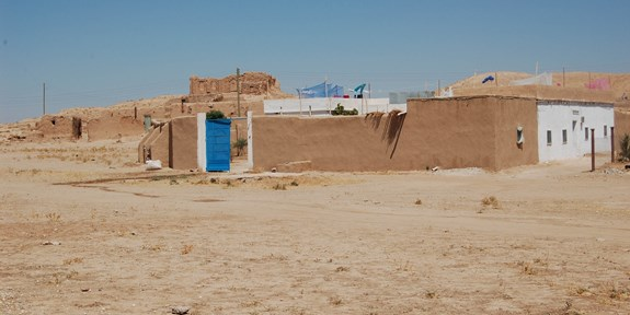 House of the Czech expedition (so called بيت تشيكي), Tell Arbid Abyad, Syria