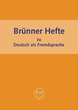 Brünner Hefte zu Deutsch als Fremdsprache