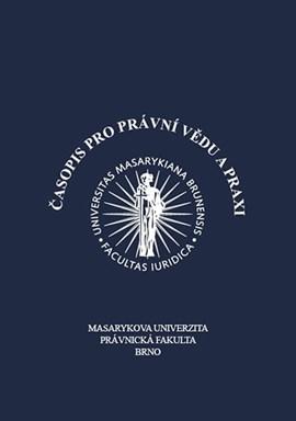 Časopis pro právní vědu a praxi (The Journal of Jurisprudence and Legal)