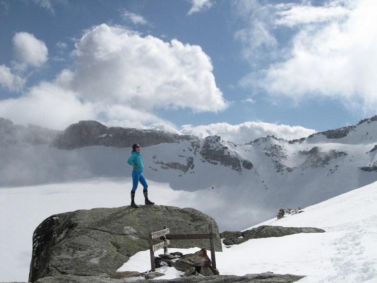 Petra Pospěchová se vydává na hory v Česku i v zahraničí. Foto: archiv Petra Pospěchová