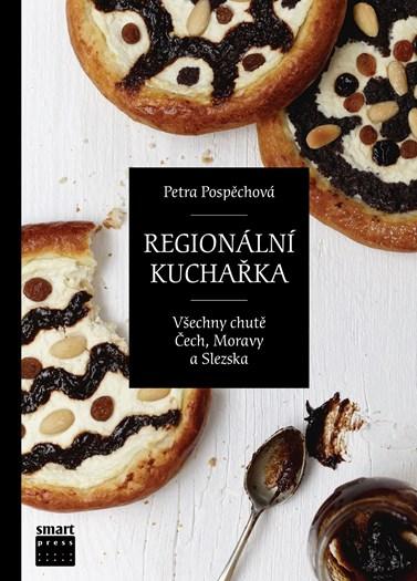 Kuchařku o regionálních kuchyních Česka vydala Pospěchová v roce 2013. Foto: archiv Smart Press
