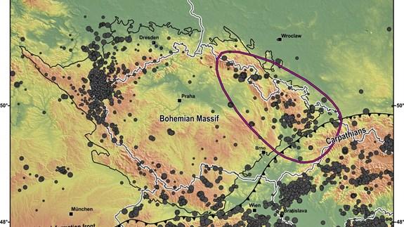 seismicita severovýchodní ČR