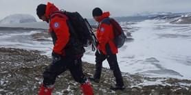 Fotogalerie: Ledová Antarktida prověřila první české výrobky